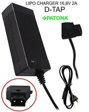 Carica batterie Li-Ion LIPO CHARGER porta D-TAP 16,8V per SONY BP-95WS BP-190WS