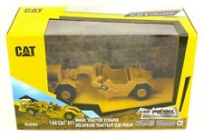 1:64 DIECAST MASTERS CATERPILLAR CAT Model 611 Wheel Tractor SCRAPER *NIB*