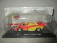 FIAT ABARTH 2000 SP SE027 1974 HACHETTE SCALA 1:43