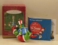 Hallmark Dr. Seuss Gifts for the Grinch Christmas Ornament