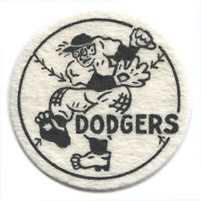 "1954 BROOKLYN DODGERS MLB BASEBALL BEST AND CO. VINTAGE 2.5"" TEAM LOGO PATCH"