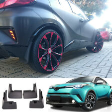 For Toyota C-HR 2016 2017 2018 Plastic Molded Splash Guards Mud Fender Mud Flap