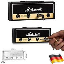 Marshall Jack Rack JCM800 Gitar Schlüsselanhänger Schlüsselbrett+4 Anhängern DE