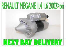 RENAULT MEGANE 1.4 1.6 BRAND NEW STARTER MOTOR 2002 2003 2004 2005 2006 2007 >on