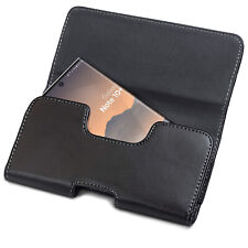 Samsung Galaxy Note 10 Plus Belt Holster Pouch Holder PU Leather Case Compatible