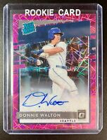 DONNIE WALTON 2020 Donruss Optic Pink Velocity Prizm Rated Rookie Autograph RC