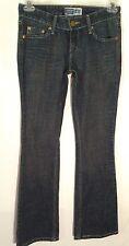 Levi Strauss Signature Premium Stretch Denim Size 3 Low Slim Boot Cut Jeans LHM