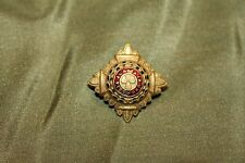 Original WW1 British/Canadian Army Officers Metal Pip Device w/Pin for Uniform