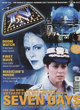 T.V.Zone #122 Jan. 2000 Seven Days Doom Watch First Wave Magicians House   MBX35