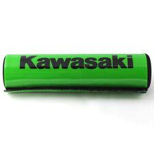 "7.9"" Green Kawasaki DIRT BIKE Motorcyle Motorcross Handlebar Cross Bar Pad OB"