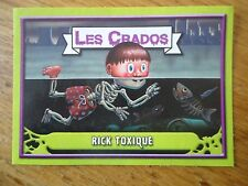 Image * Les CRADOS 3 N°78 * 2004 album card Sticker FRANCE Garbage Pail Kid