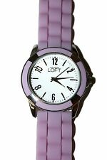 NWT Ann Taylor Loft Lavender Funky Fabulous Jelly Texture Water Resistant Watch