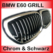For BMW E60 E61 M5 Kidneys Front Grill Chrome Radiator Grille