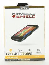 Zagg Invisible Shield Original Screen Protector Skin For Motorola Moto G 1st Gen