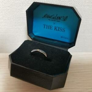 Evangelion THE KISS Collaboration Ring 925 silver size 4 Jewelry Accessory Rare