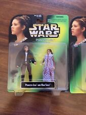 KENNER STAR WARS PRINCESS LEIA COLLECTION HAN SOLO AND LUKE SKYWALKER