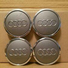"""Audi A3 A4 A6 A8 TT OEM Wheel Center 4 Caps 4B0 601 170 A Diameter 2 3/4"""" #DS364"""