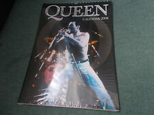 NEW SEALED 2008 QUEEN Calendar Music Rock Band Memorabilia Freddy Mercury RARE