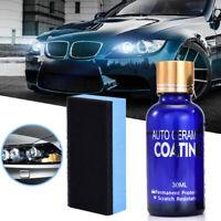30ml Auto Headlight Polishing Fluid Restoration Car Scratch Repair Coating Kit