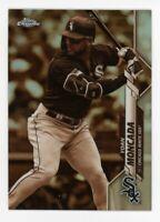 2020 Topps Chrome #145 YOAN MONCADA Chicago White Sox CARD RARE SEPIA REFRACTOR
