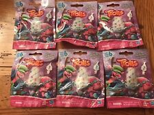 Hasbro TROLLS Series 6 Holiday Edition Blind Bag Packs Lot of 6 Six Sealed New