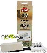 1 Kiwi Suede Nubuck Brush and Block Cleaning Kit 27710