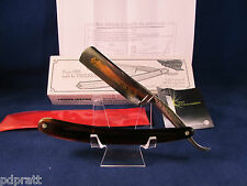 Thiers-Issard Spartacus Blonde 5/8 Straight Razor With 24kt.Gold Etch Mint N Box