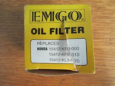 EMGO OIL FILTER 10-9920 TO FIT HONDA CB500 CBX250RS NX250/650 XL/XR SEE LISTING