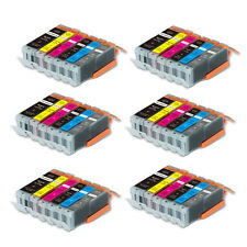 36 PK Ink Cartridges + smartchip for Canon 250 251 Pixma MG7120 MG6320 MG7520