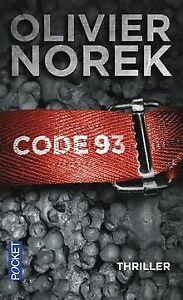 Code 93 de NOREK, Olivier | Livre | état très bon