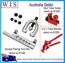 Brake / Fuel Pipe Repair Tool Set Double Flaring Kit w Mini Bender & Tube Cutter