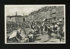 Denmark KOBENHAVN Copenhagen Ved Gammelstrand fish market RP PPC