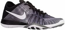 Women's Nike Free TR 6 Prt Black White Cool Grey Training Shoes 833424-001 US 7