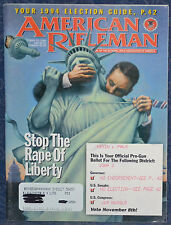 Magazine American Rifleman, OCTOBER 1994 !!! MARLIN Model 512 SLUGMASTER !!!