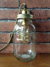 VINTAGE KILNER MASON JAR TABLE LAMP