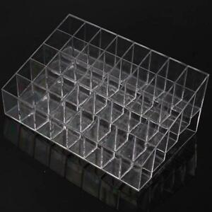 Clear Acrylic 40 Lipstick Holder Display Box Cosmetic Makeup Organizer Wholesale
