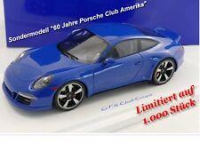 PORSCHE 911 GTS 60 years Porsche Club America stata limitata 1.000 pezzi GT Spirit