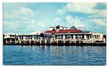 1950s/60s Sea Breeze, Miller Avenue, Freeport, Long Island, NY Postcard *6L4