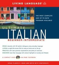 Ultimate Italian: Beginner-Intermediate (Book & 8 CD Set) Living Language Course