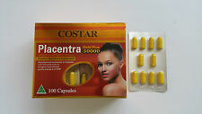 2 Boxes Costar Sheep Placentra Gold Plus 50000 mg 100 Capsules Placenta