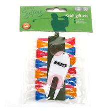Golf Tees Plastic Boyz Toys Gone Golfing Lift Various Colour Set Pitch Marker
