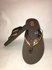 Teva Brown Flip Flop Sandals Size 5