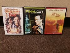 What Dreams May Come + Hook + Final Cut 3 Robin Williams Dvd Lot Free Shipping