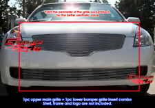 For 07-09 Nissan Altima Sedan Billet Grille Combo Insert