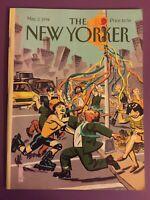 1994 MAY 2 THE NEW YORKER MAGAZINE - THEME : MAY DAY DAVID MAZZUCCHELLI FREESHIP