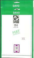 (2)DAVO Mela Black Mount Pks/ 10 each(135mmH x 215mmW)-new and fresh #