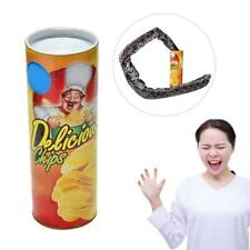 Potato Chip Snake In A Can Gag Gift Prank Large Size Funny Scare Shock
