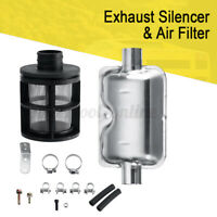 Air Filter Exhaust Silencer Pipes Hose Bracket Set For Ebespacher Diesel Heater