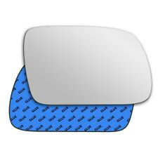 Right wing adhesive mirror glass for Peugeot 407 2004-2009 197RS