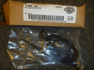 2008-2013 Harley-Davidson Dyna Sportster Iron Clutch Switch Kit 71620-08 OEM New